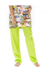 Pantaloni de casa green