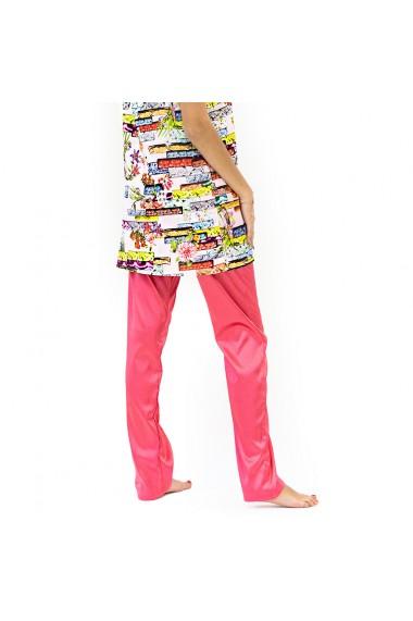 Pantaloni de casa pink