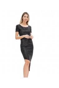 Rochie eleganta cu paiete negre