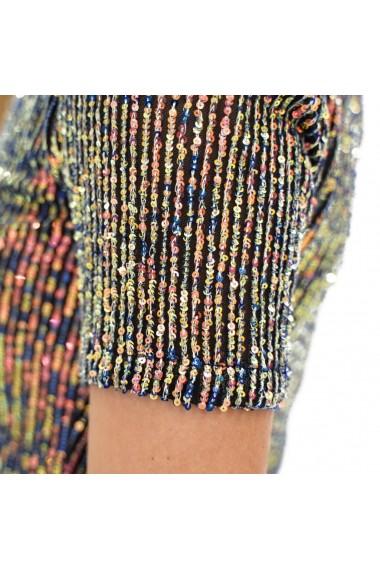 Bluza cu paiete colorate