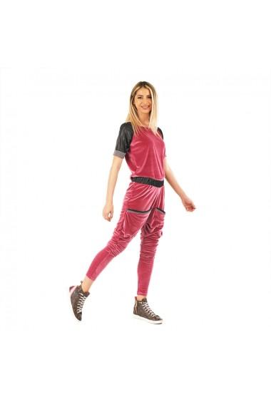 Compleu de dama roz liliac sport chic