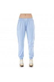 Pantaloni Hip Hop albastri cu buzunare si mansete