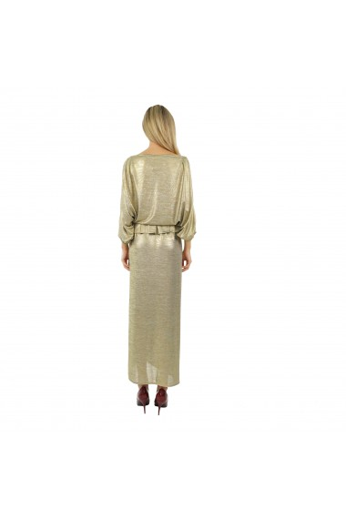 Rochie lunga Butterfly Gold