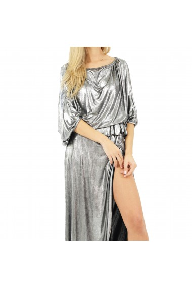 Rochie lunga Butterfly Silver