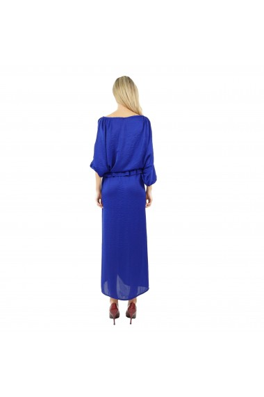 Rochie lunga Butterfly Blue