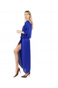 Rochie de seara Lunga Inga Valerie Larga din vascoza, Bleu