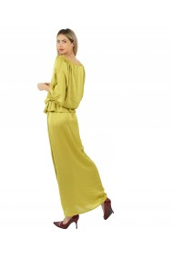 Rochie lunga Butterfly Mustard