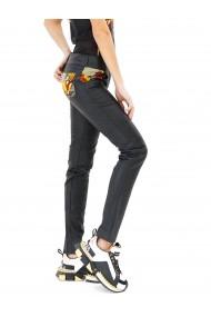 Pantaloni skinny jeans din piele