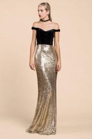 Rochie de seara Andrea Leo Couture A0250 Neagra