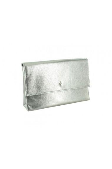 Geanta argintie Menbur Bubbio Gris