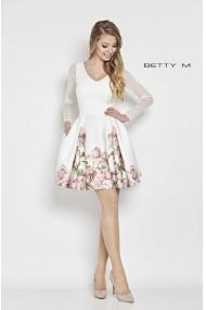 Rochie de seara Betty M Casablanca Inflorata