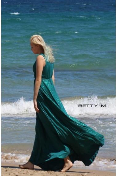 Rochie de seara Betty M Celebrity Verde
