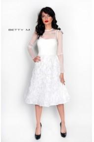 Rochie de seara Betty M Dunes Alba