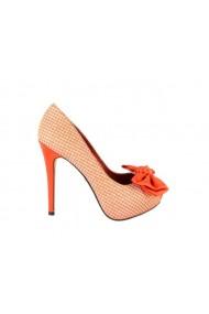 Pantofi de ocazie Menbur Torecci portocalii