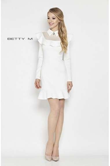 Rochie de seara Betty M White Lady Alba