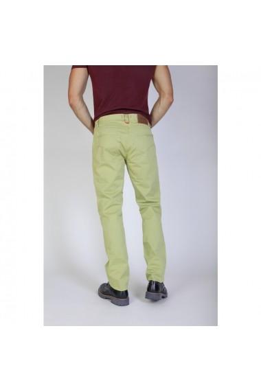Pantaloni Jaggy J1889T812-Q1 609 PISTACHIO-NUT verde-fistic
