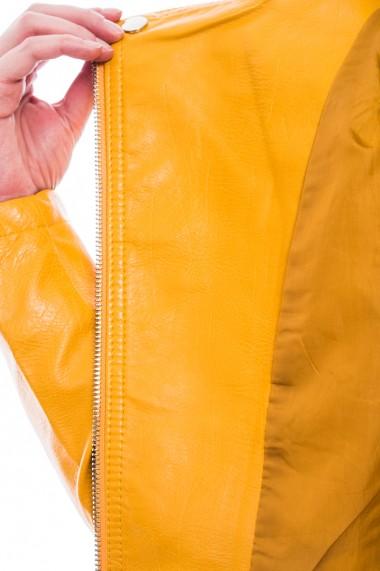 Jacheta piele ecologica, Jolenttine, galben
