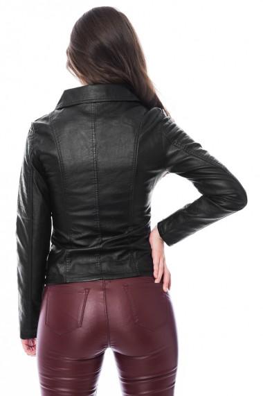 Jacheta piele ecologica Jolenttine negru