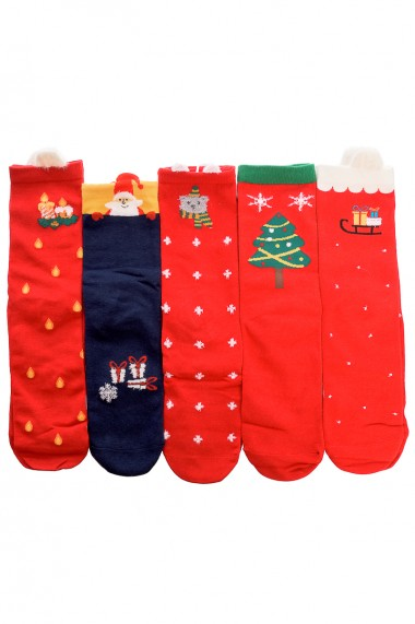 Set 5 sosete Christmas