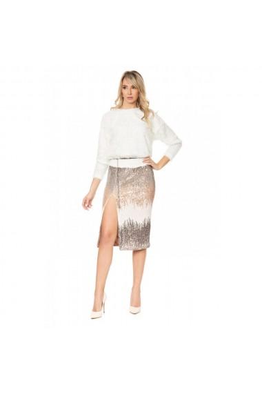 Bluza oversize white