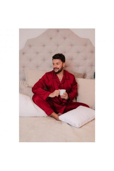 Set pijamale cuplu din matase
