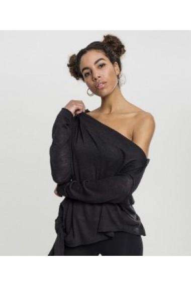 Bluza Asymmetric Sweater Neagra