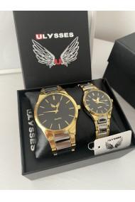 Set 2 ceasuri EL si EA Auriu