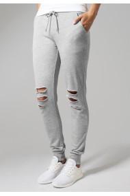Pantaloni Terry Gri