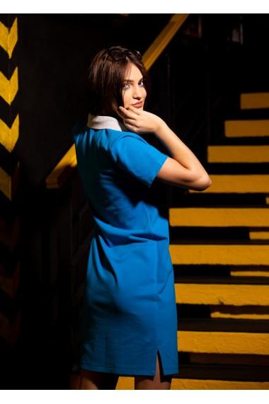 Rochie polo dama Albastru