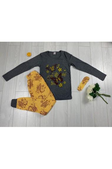 Pijama Autumn Negru
