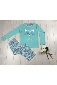Pijama Blue Cat Albastru