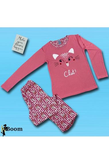 Pijama LOVE 5 piese Roz