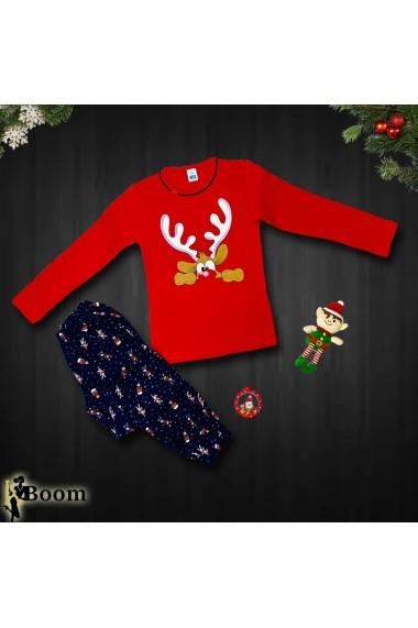 Set Christmas Holiday Rosu