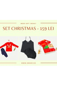 Set Christmas Kboom Rosu