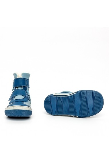 Ghete imblanite PJ Shoes Kiromix2 albastru
