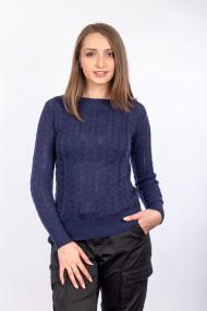 Pulover Cashmere Carmen Grigoriu Bleumarin