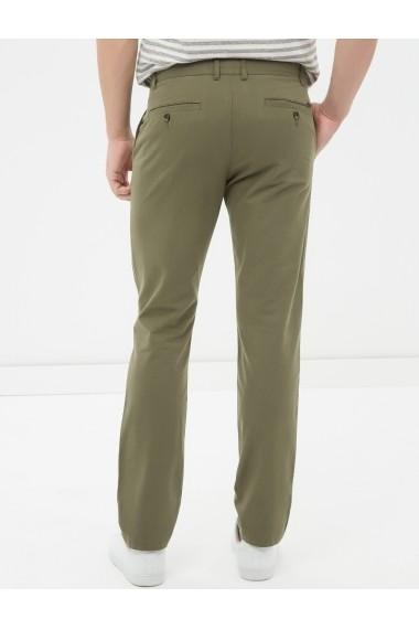 Pantaloni KOTON 6YAM42124KW Verde - els