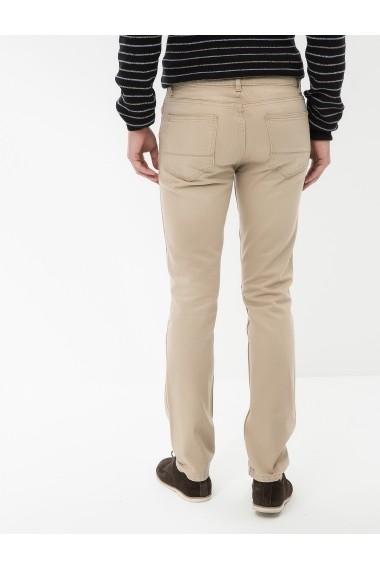Pantaloni lungi KOTON 7KAM41151LW Bej - els