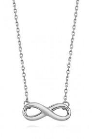Colier infinit din argint 925, Ludique Jewelry, argintiu