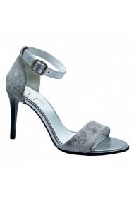 Sandale cu toc Luisa Fiore GINNA gri