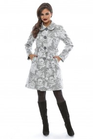 Palton Lille Couture Cosmina Gri