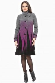 Palton Lille Couture Stefi Gri inchis