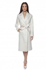 Palton elegant Lille Couture Roxana alb