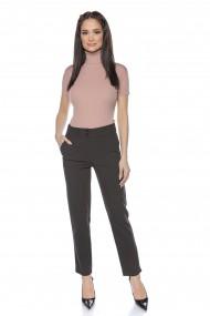 Pantaloni drepti Lille Couture negru