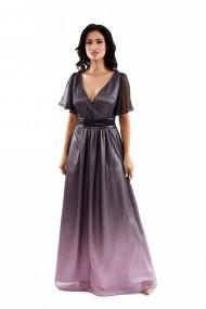 Rochie de seara lunga Lille Couture din voal degradat Erika