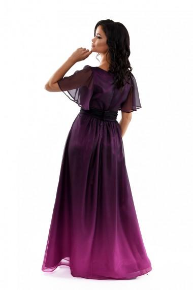 Rochie de seara lunga din voal degradat Erika