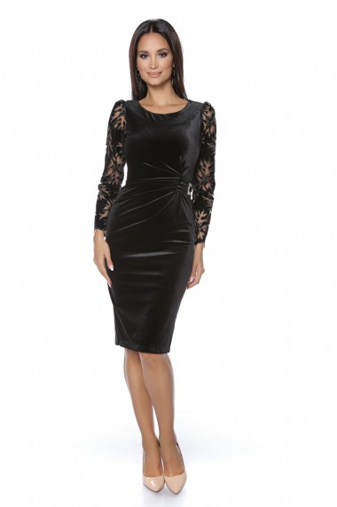 Rochie de seara Lille Couture Eliza negru