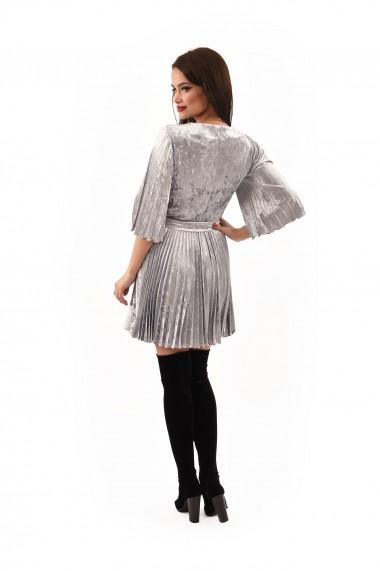 Rochie catifea Lille Couture Patricia Gri