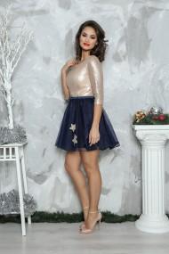 Rochie de seara scurta din paiete Elena