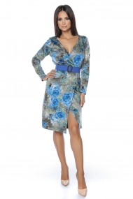 Rochie din jerse Lille Couture Cami print floral